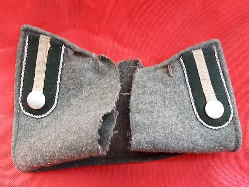 POA collar tabs review.....