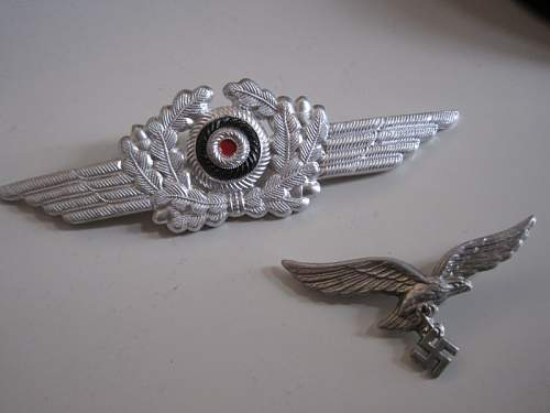 Oppinion on this Luftwaffe Visor Insignia
