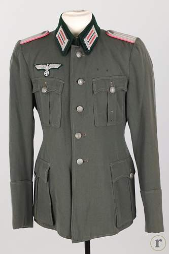 Thoughts on this Heer Panzer Leutnant's Tunic