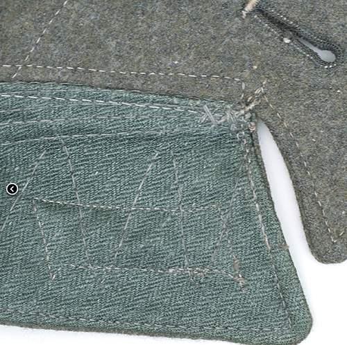Heer M42 feldbluse - H43 stamped (Lightly worn)