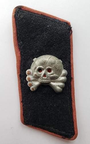 Skull for Panzer Collar Tab