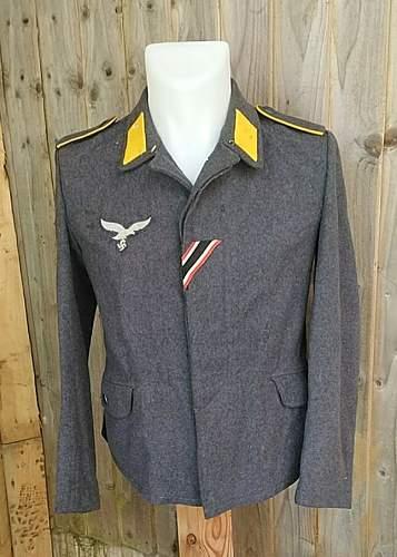 Luftwaffe bluse-tunic opinion