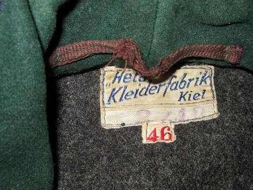 Kriegsmarine - Uboat Leather Jacket.