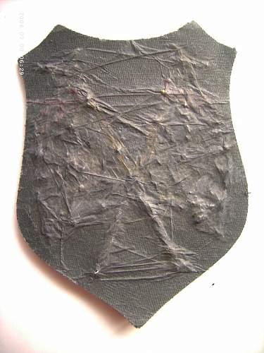 Luftwaffe Cloth Badge.