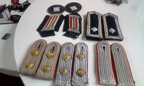 Can anyone kindly identify these Heer, shoulder boards and insignia thanks !