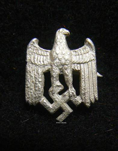 Wehrmacht Eagles for Wear on Civilian Clothing
