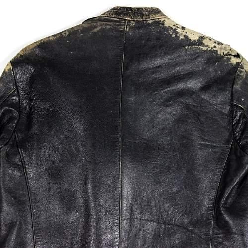 KM leather jacket