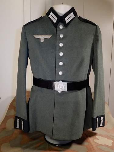 Pionier-Batallion/Panzer-Pionier-Batallion 27 Waffenrock