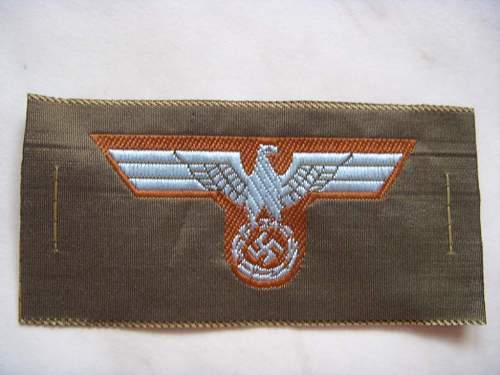 Heer Tropical Cap Eagle Original? Please Help!