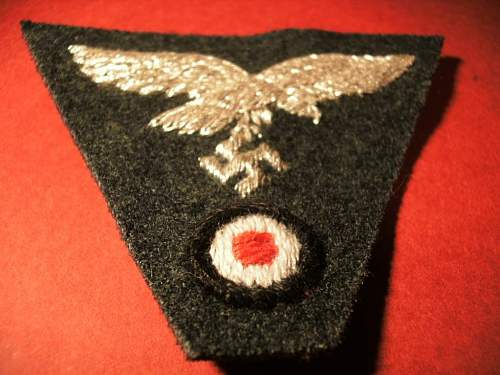 Group of Heer and Luftwaffe insignias