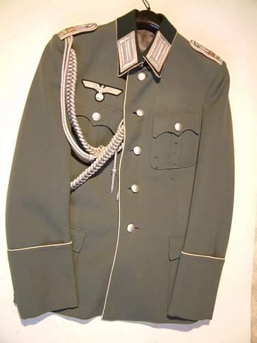 Heer Infanterie Oberleutnant Uniform