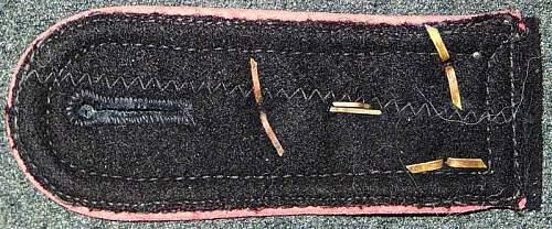DAK Pz Regt 8 shoulder board for review