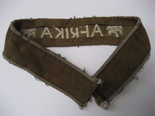Afrika Cuff title.  Opinions please