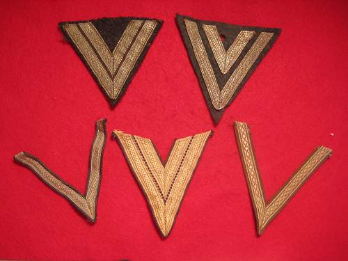 German Arm patch Chevron Insignia