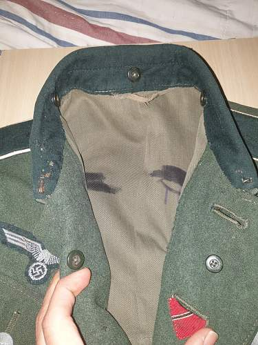 M36 Tunic with ostfront Ribbon.