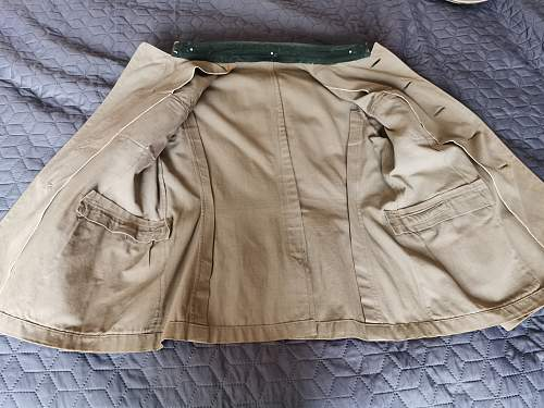 Heer Major's summer tunic
