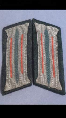 Are these original EM flak collar tabs?