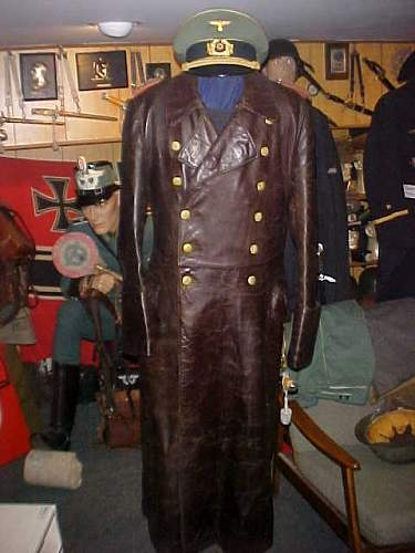 German Leather Greatcoat? Need opinions please...