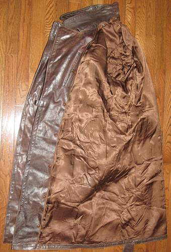 Brown Leather Greatcoat - Need Opinions Please...