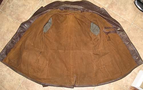 Kriegsmarine Leather Coat - Need Opinions Please...