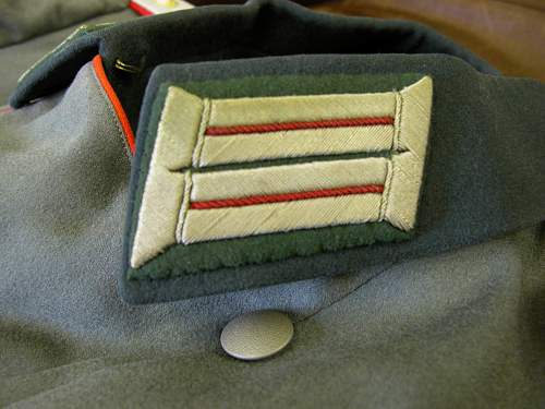 Click image for larger version.  Name:Reichswehr Parade Tunic Artillery Hauptman 22 (Capt.).jpg Views:113 Size:249.3 KB ID:164073