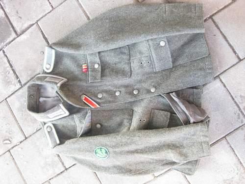M43 Heer tunic