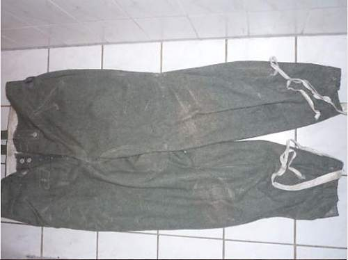 Feldbluse M40 & trousers M43 Real or Fake???