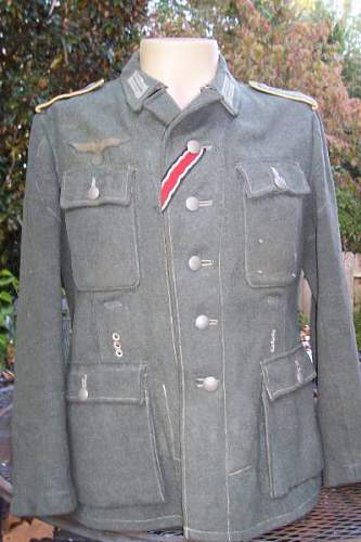 M43 tunic and sumptern trausers