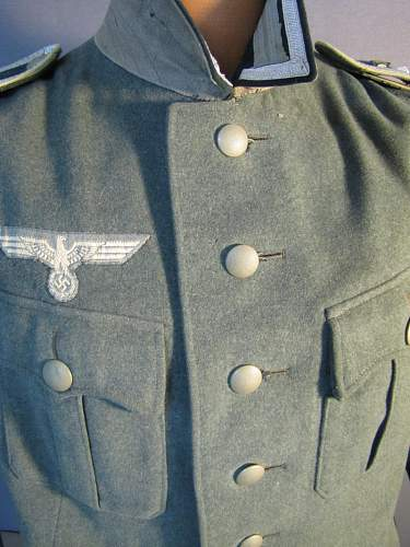 Early Infantry combat tunic
