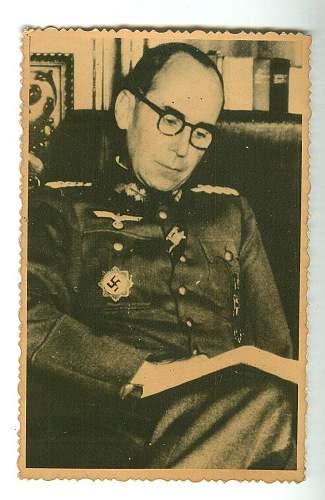 Has anyone heard of generalmajor helmuth bachelin?