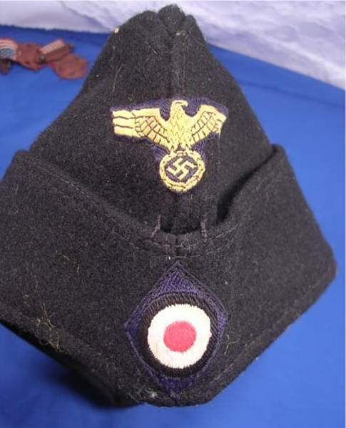 Take a look at this cap for me please