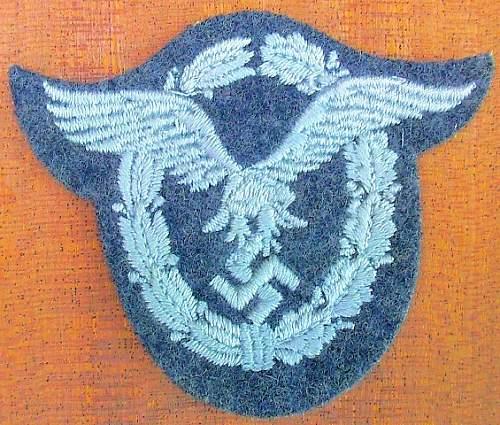 Luftwaffe Insignia - Aye or nay?