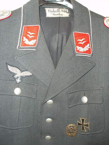 Need some opinions on this Luftwaffe Officer's Flak Tunic...