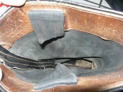on Wehrmacht officer boots.