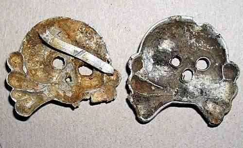 Panzer collar Totenkopf
