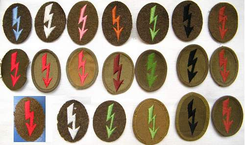 Heer Tropical trade patches