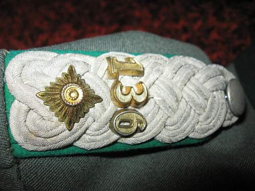 Gebirgsjager M36 uniform - need help