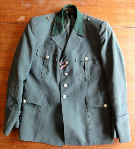 Opinion on this tunic and entrenching shovel