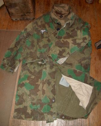 Luftwaffe CAMO tunic at auction