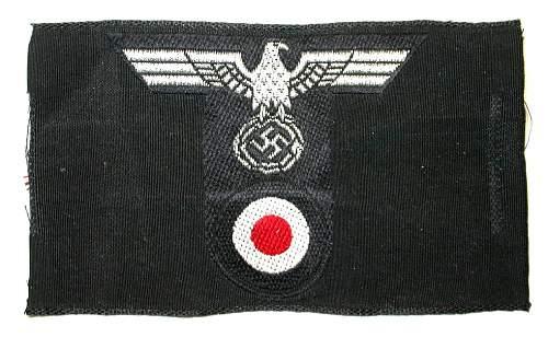 Heer Panzer bevo cap insignia...fake or legit?