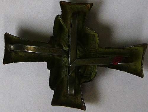 Stalingrad cross found