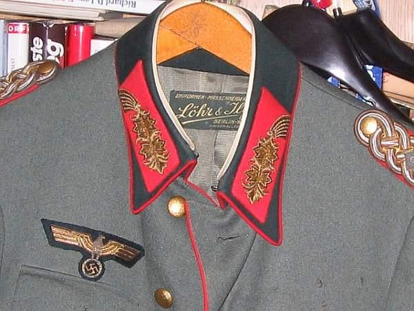The Tunic Of Generleutnant Bourquin