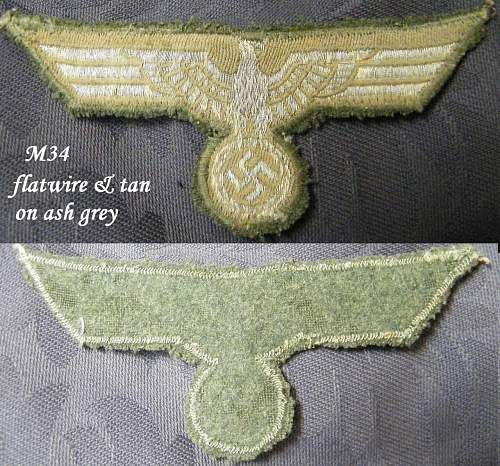 Click image for larger version.  Name:M34 tunic eagle flatwire tan.jpg Views:819 Size:260.4 KB ID:199854