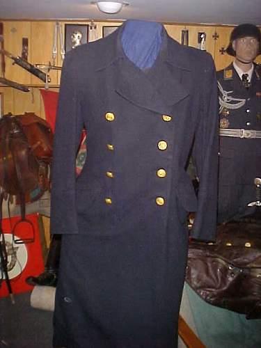 Kriegsmarine Overcoat ??