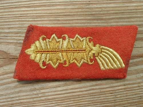 Heer generals collar tabs