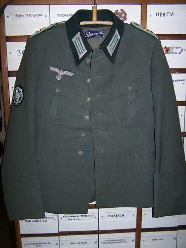 German Gebirgsjager Oberlieutenant's tunic