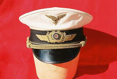 Luftwaffe General Cap