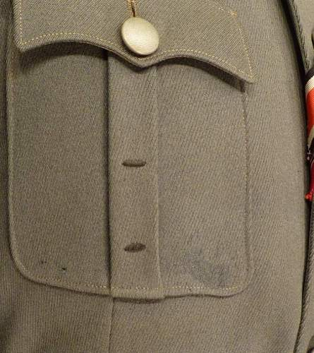 HELP ID owner of this Infantry Rgt 16. Major`s M36 Tunic, DKiG reciptant.