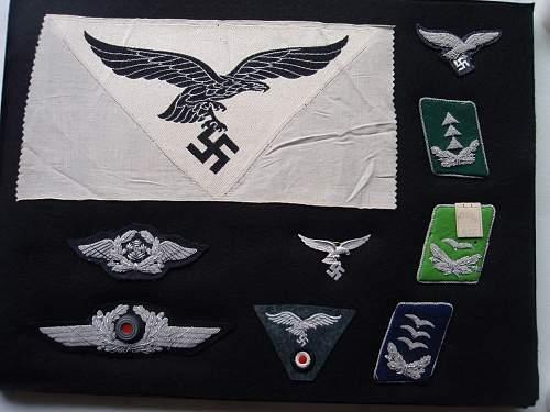 Luftwaffe items ID