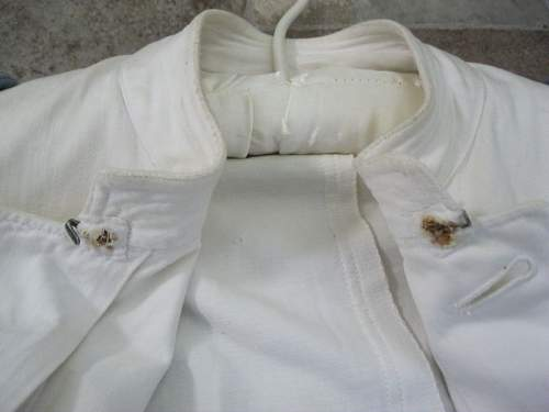 Heer Officers white summer tunic